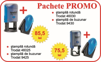 stampile promo trodat power box